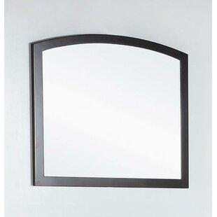 Buy clear Wood Framed Bathroom Wall Mirror ByBellaterra Home