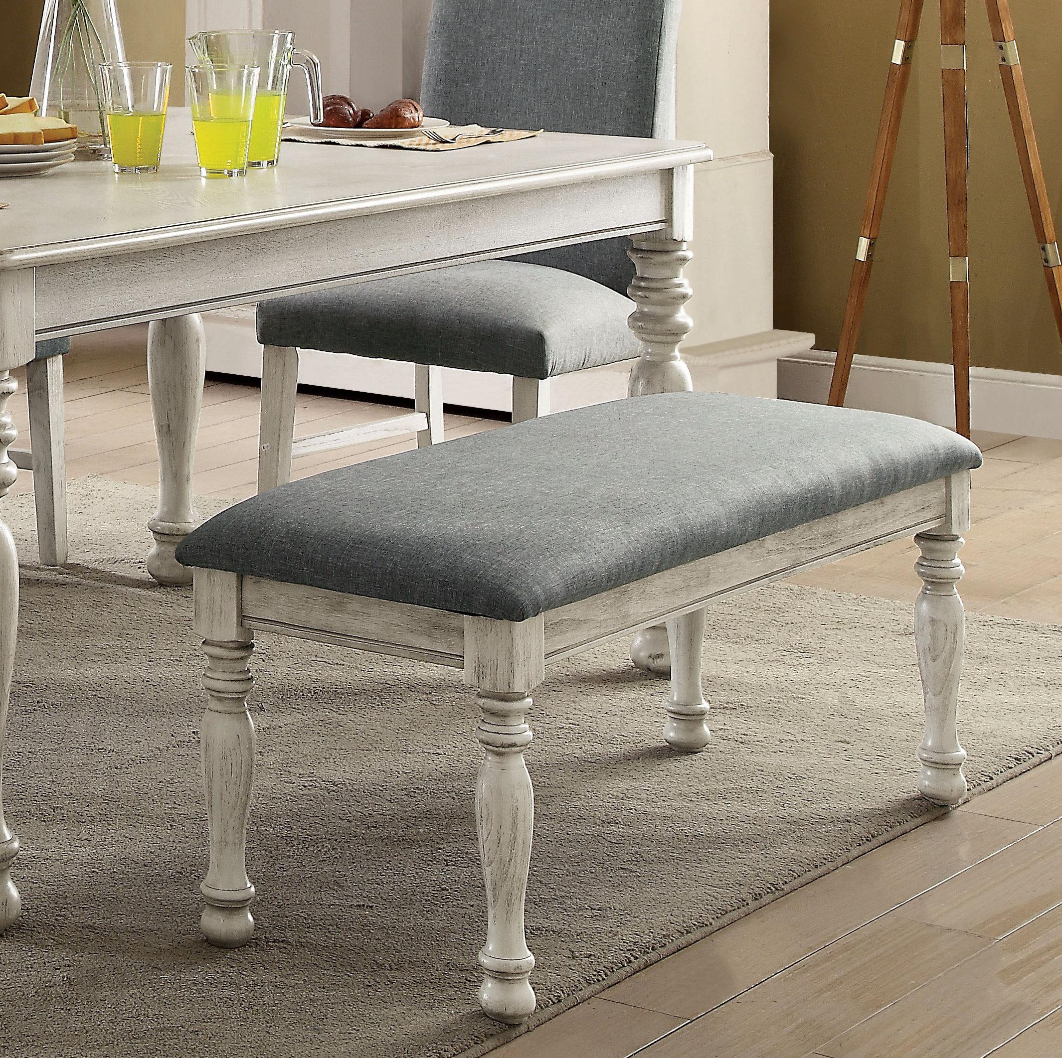 Ophelia Co Kanisha Upholstered Bench Reviews Wayfair
