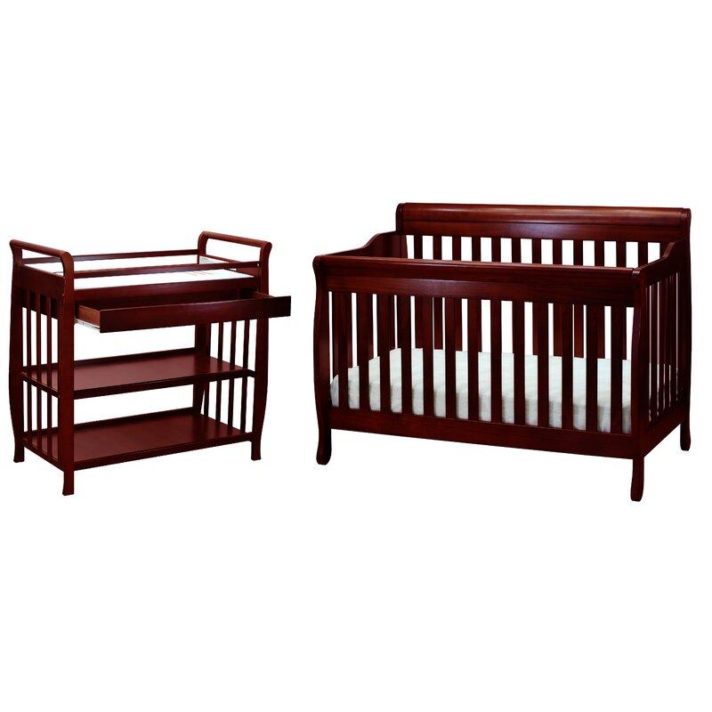 Viv + Rae Jaden Convertible Standard 2 Piece Nursery Furniture Set