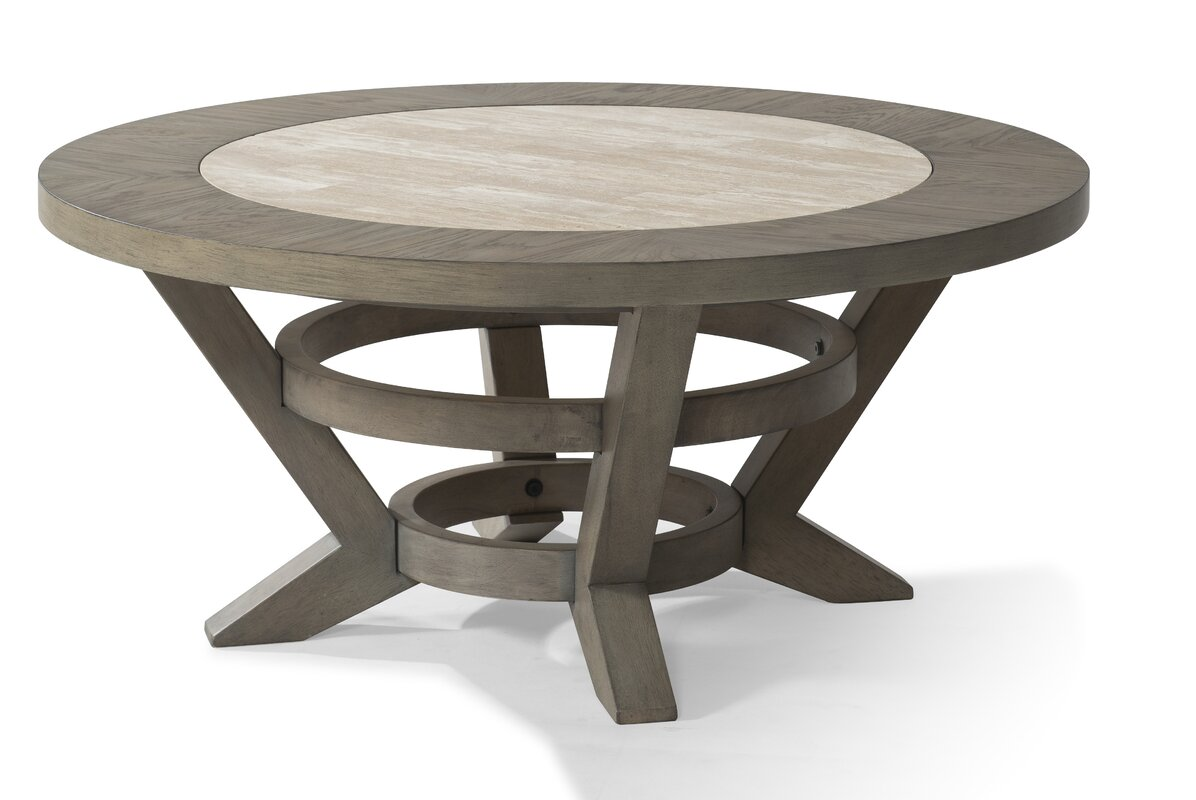 Trisha Yearwood Home Collection Music City Round Coffee Table