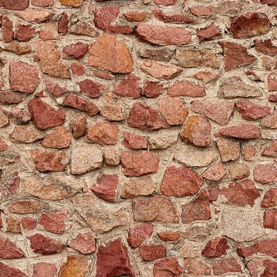 Williston Forge Dehon Brick Removable Peel and Stick Wallpaper Panel