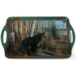 Melamine Bear Serving Tray