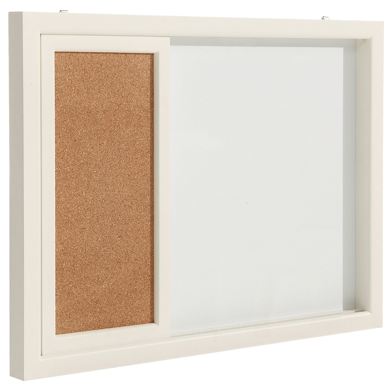 Latitude Run Erasable Magnetic Wall Mounted Combo Board Wayfair