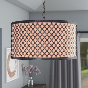 Best Sachar 3-Light Pendant By Willa Arlo Interiors