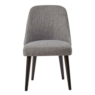 Dede Angled Legs Upholstered Dining Chair (Set of 2) by Brayden Studio