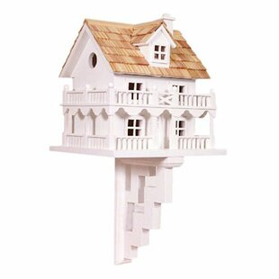 Home Bazaar Classic Series Novelty Cottage 11 in x 10 in x 9 in Birdhouse