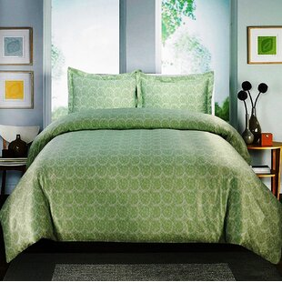 Arrowwood Cotton Duvet Cover Set