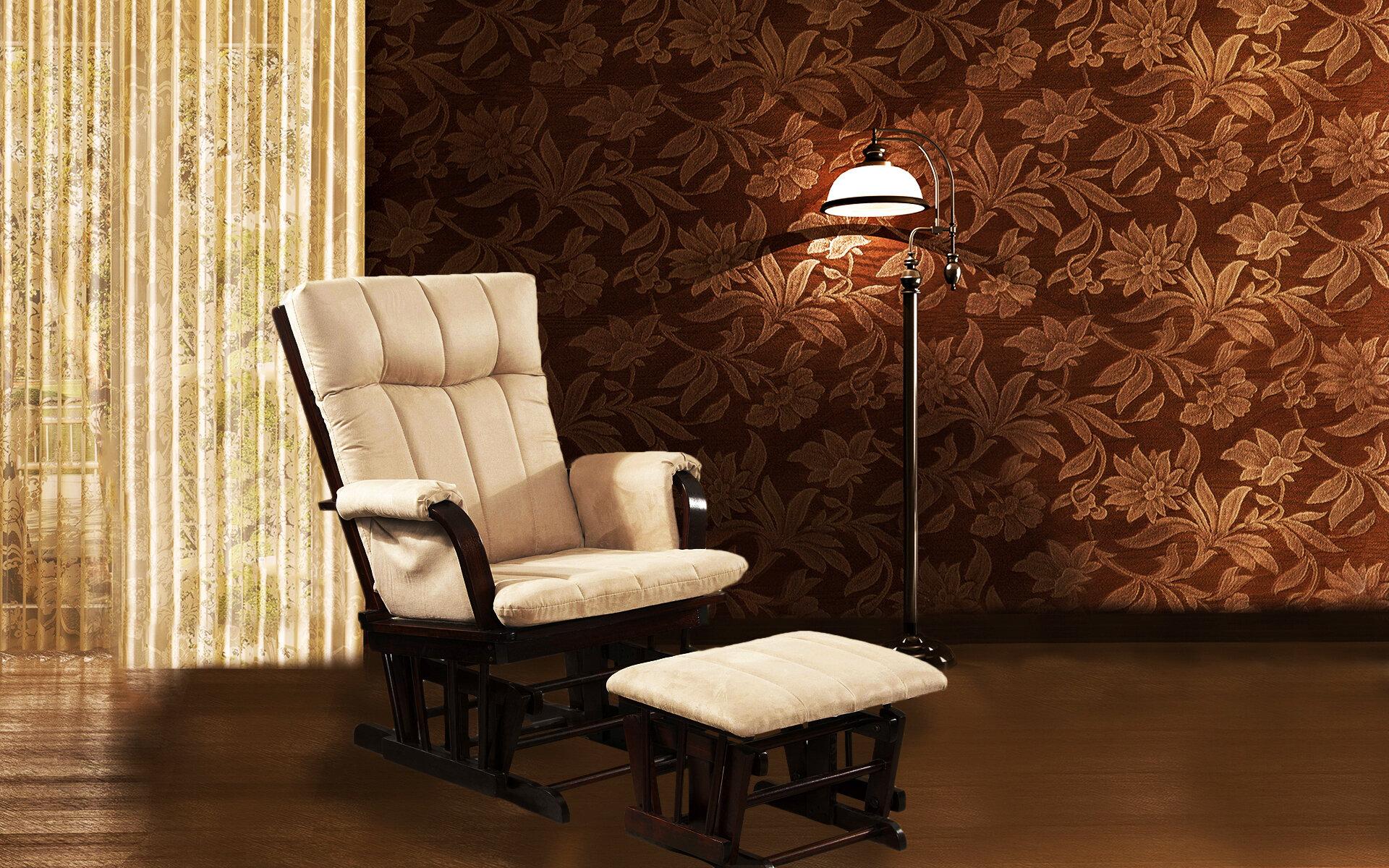 Dake Glider Chair And Ottoman