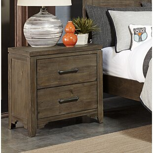 Saucedo 2 Drawer Nightstand