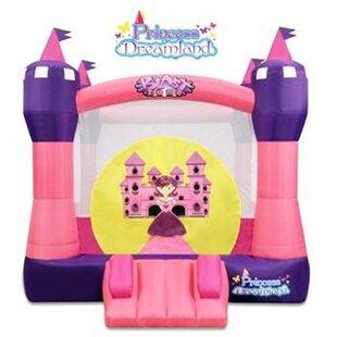 Princess Castle Bounce House By Blast Zone