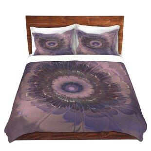 Latitude Run Matheson Pam Amos Silken Purples Microfiber Duvet Covers