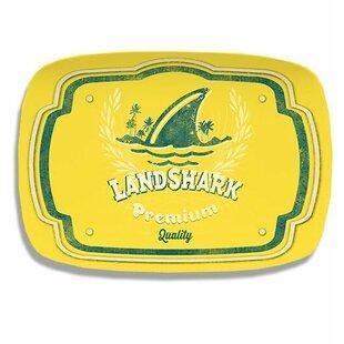 Margaritaville Landshark Logo Melamine Platter