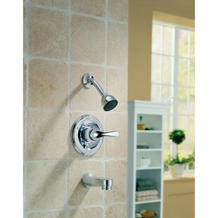 Price comparison Other Core Diverter Tub and Shower Faucet Trim with Lever Handles and Monitor By Delta