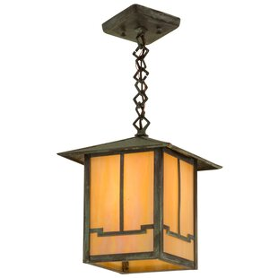 1-Light Lantern Pendant by Meyda Tiffany