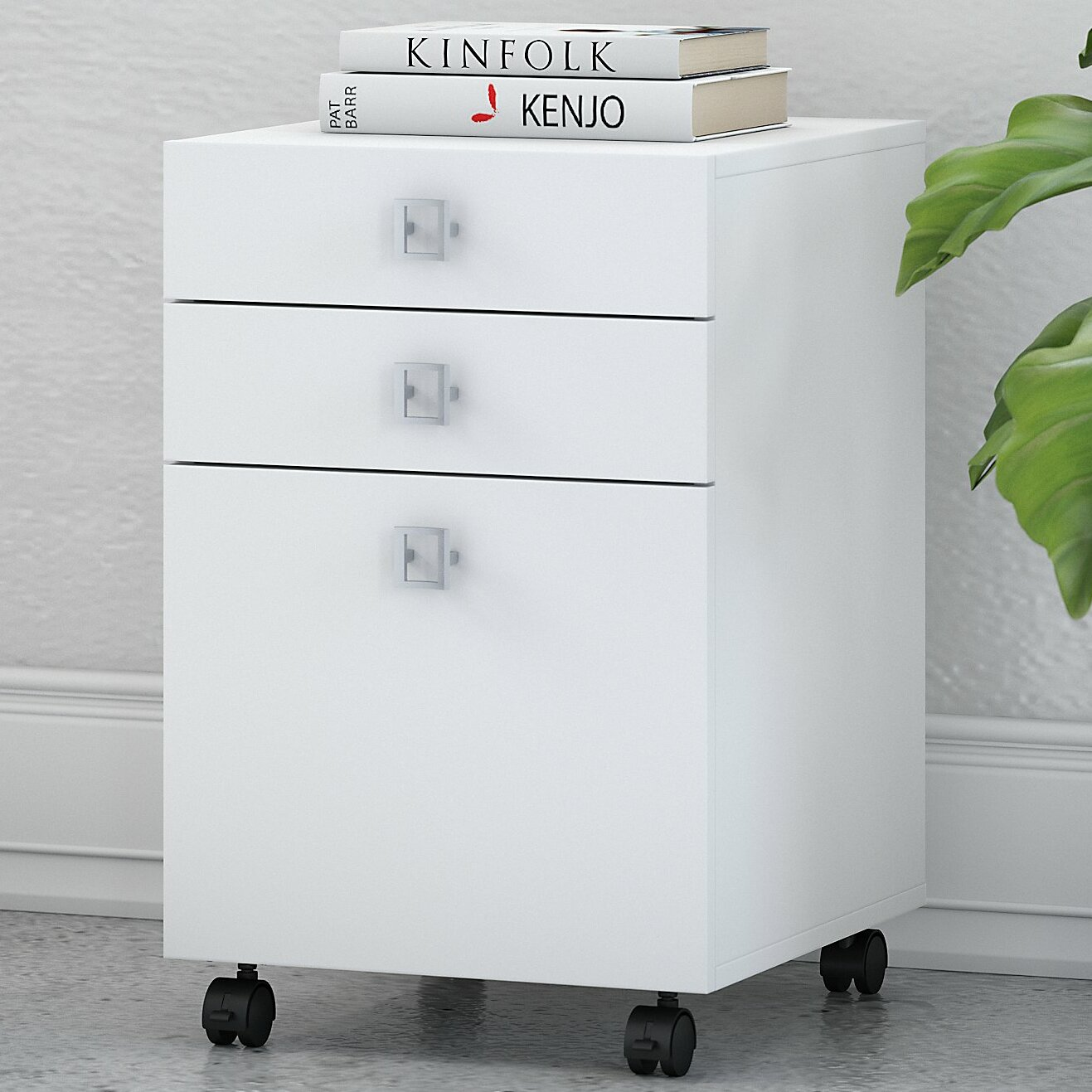 Echo 35-Drawer Mobile Vertical Filing Cabinet