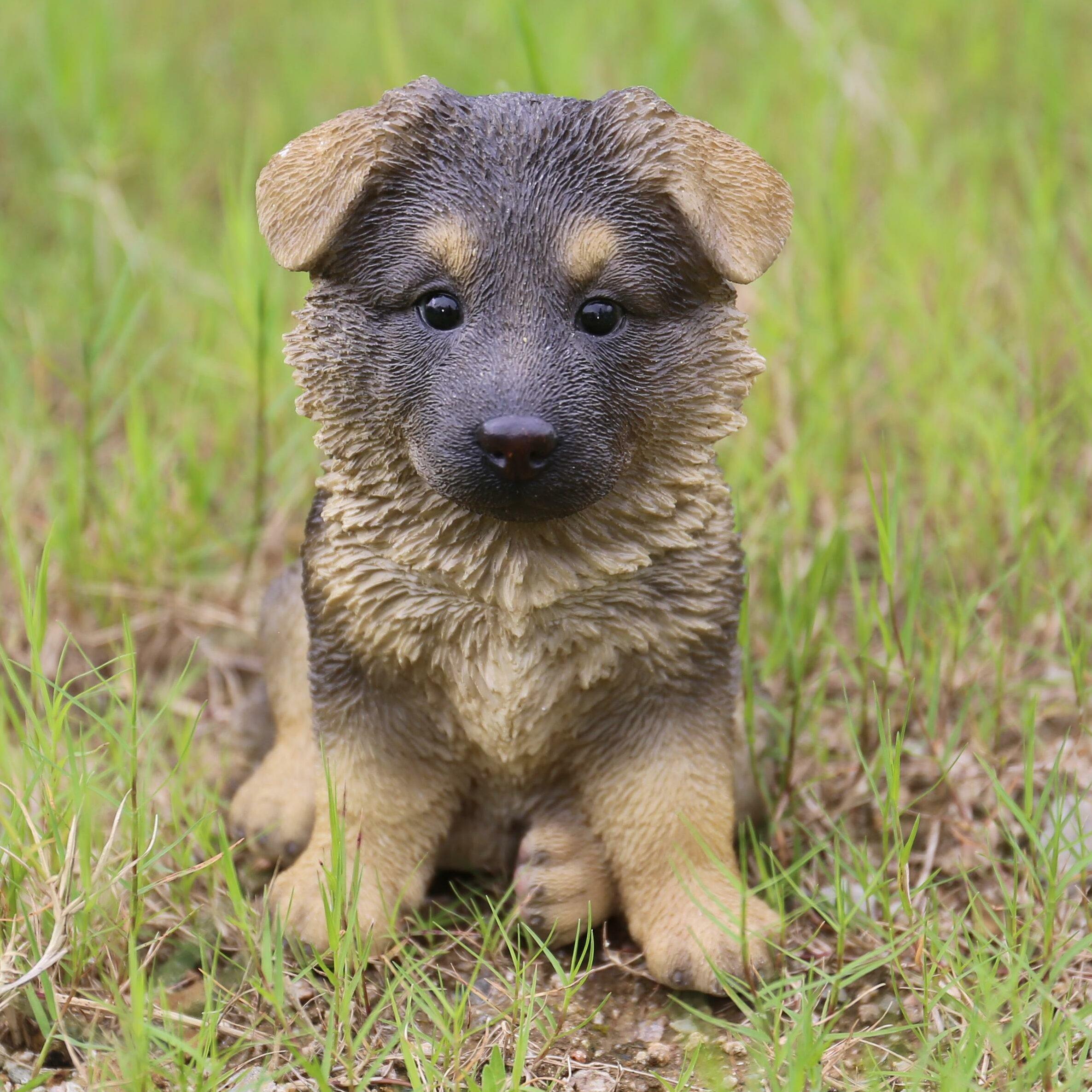Hi Line Gift Ltd Sitting German Shepherd Puppy Statue Reviews
