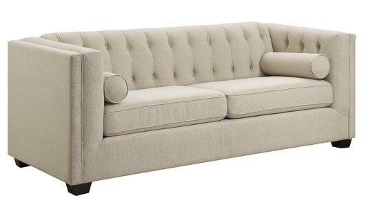 Ramses Modern Chesterfield Sofa | AllModern