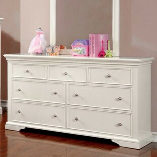 Harriet Bee Roermond 7 Drawer Double Dresser Image