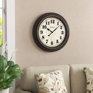mabery oversized wall clock