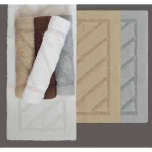 Ruby Super-Soft Hand-Tufted Natural Cotton Bath Rug ByBerrnour Home