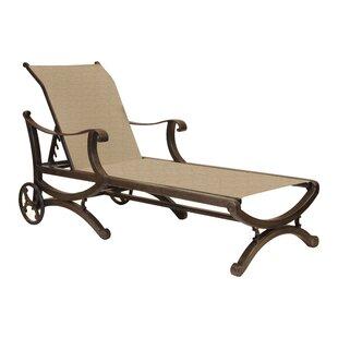 Leona Rialto Sling Chaise Lounge