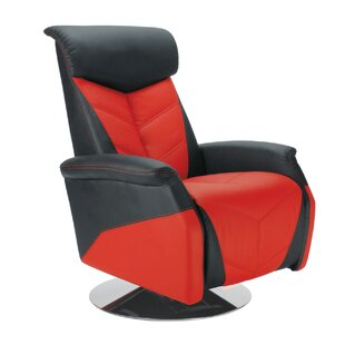 PitStop Furniture Racing Style Manual Recliner
