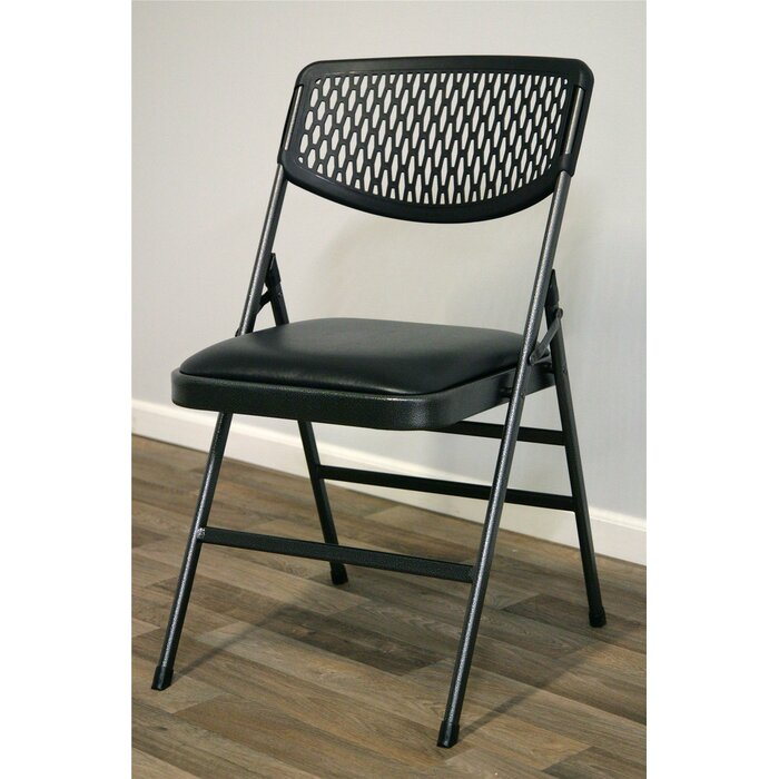 Super Commercial Vinyl Padded Folding Chair Pabps2019 Chair Design Images Pabps2019Com