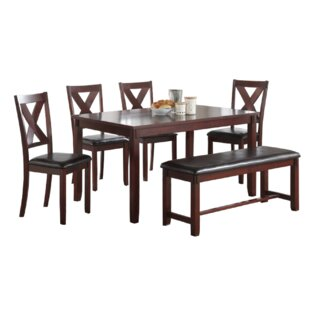 Grigori 6 Piece Dining Set by Darby Home Co