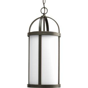 Alcott Hill Triplehorn 1-Light Modern Pendant