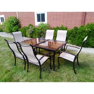 Fleur De Lis Living Churchton 7 Piece Dining Set