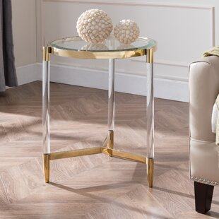 Look for Salmon End Table By Mercer41