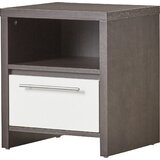 Hallum 1 Drawer Nightstand by Hashtag Home