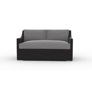 Bungalow Rose Boothby Loveseat with Cushions
