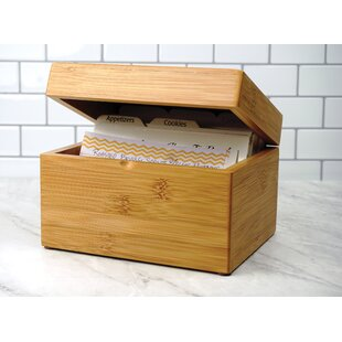 Look for Solid Wood Box By RSVP-INTL