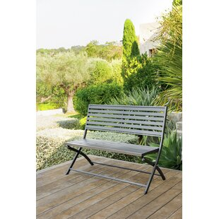 Jormun Steel Bench By Sol 72 Outdoor