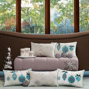Joy to the World Lumbar Pillow