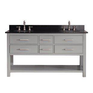 Brooks 61 Double Bathroom Vanity Set By Avanity
