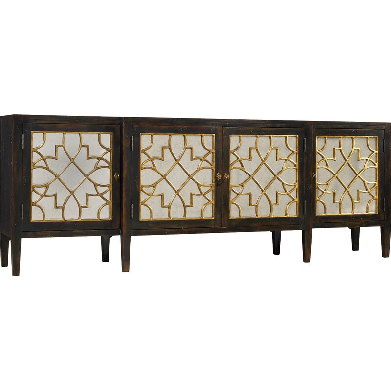 living room sanctuary four door mirrored console sideboard reviews