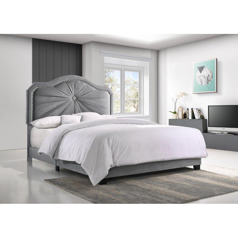 Mercer41 Kaukauna Upholstered Standard Bed Reviews Wayfair
