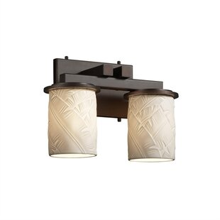 Darby Home Co Devaughn Straight 2-Light Vanity Light
