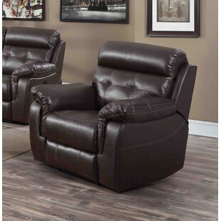 Dore Power Wall Hugger Recliner Red Barrel Studio