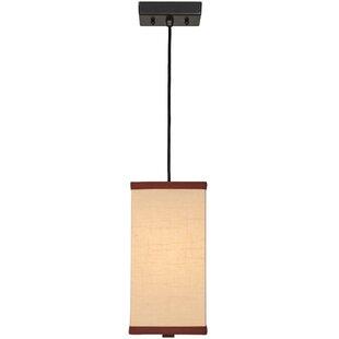 Meyda Tiffany Charisma 1-Light Cylinder Pendant