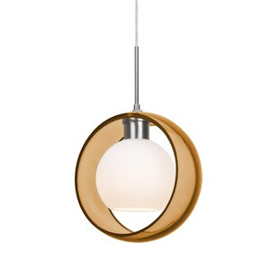 Brayden Studio Spigner 1-Light Geometric Pendant