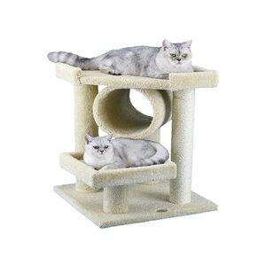 Premium 27 Carpeted Cat Tree