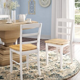 Brianne Solid Wood Dining Chair (Set of 2..