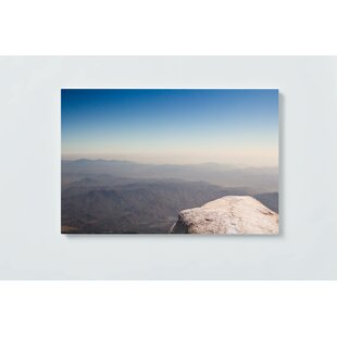 Mountains Motif Magnetic Wall Mounted Cork Board By Ebern Designs
