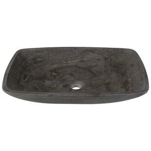 Best Review Stone Rectangular Vessel Bathroom Sink ByMR Direct