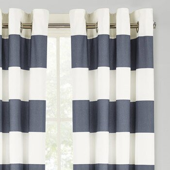 With Trellis, Geometric Shapes, Arabesque Prints, And More To Choose From,  We Suggest Pairing Geometric Curtains With Two Other Patterns In The Room  To Add ...