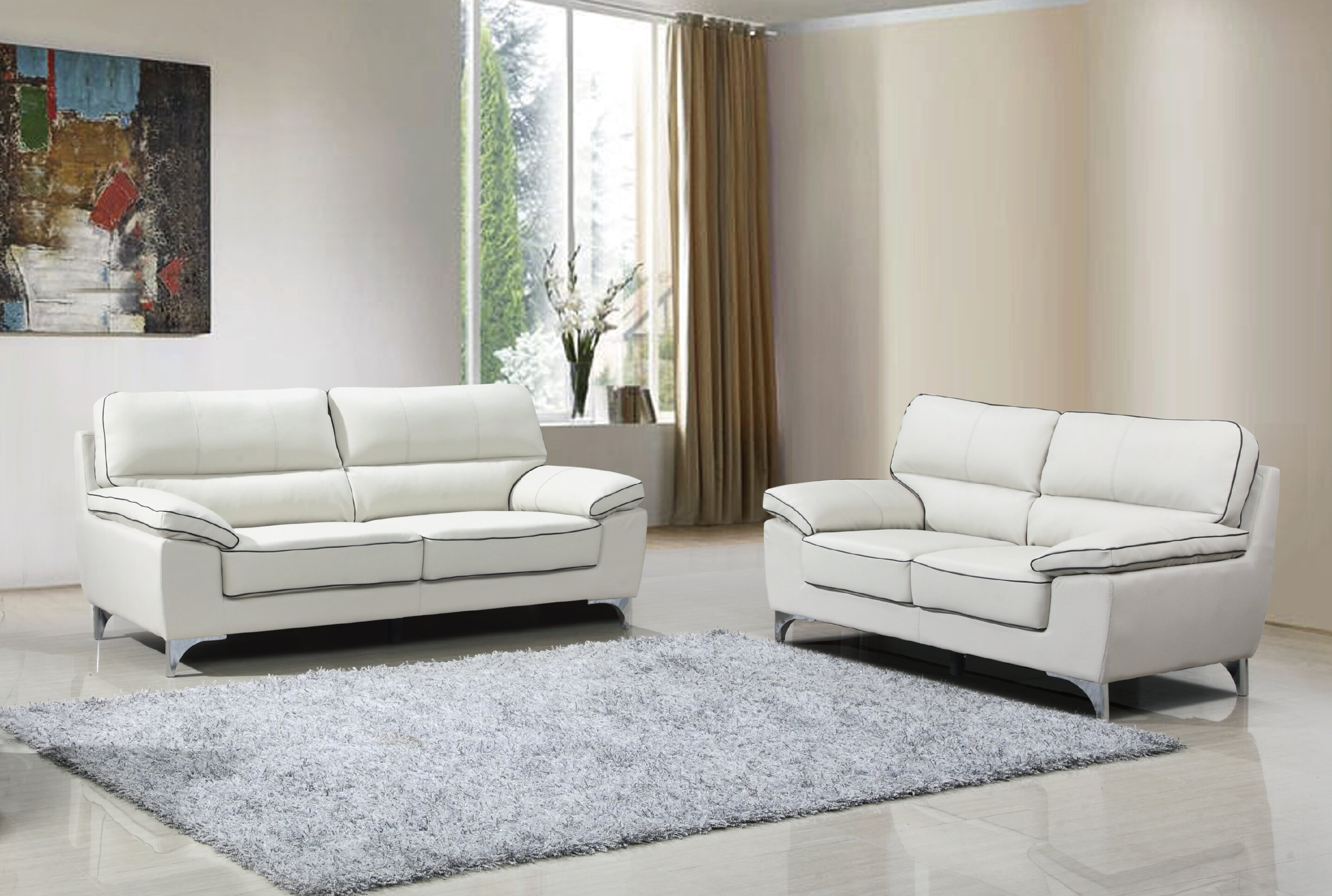 Alena 2 Piece Living Room Set