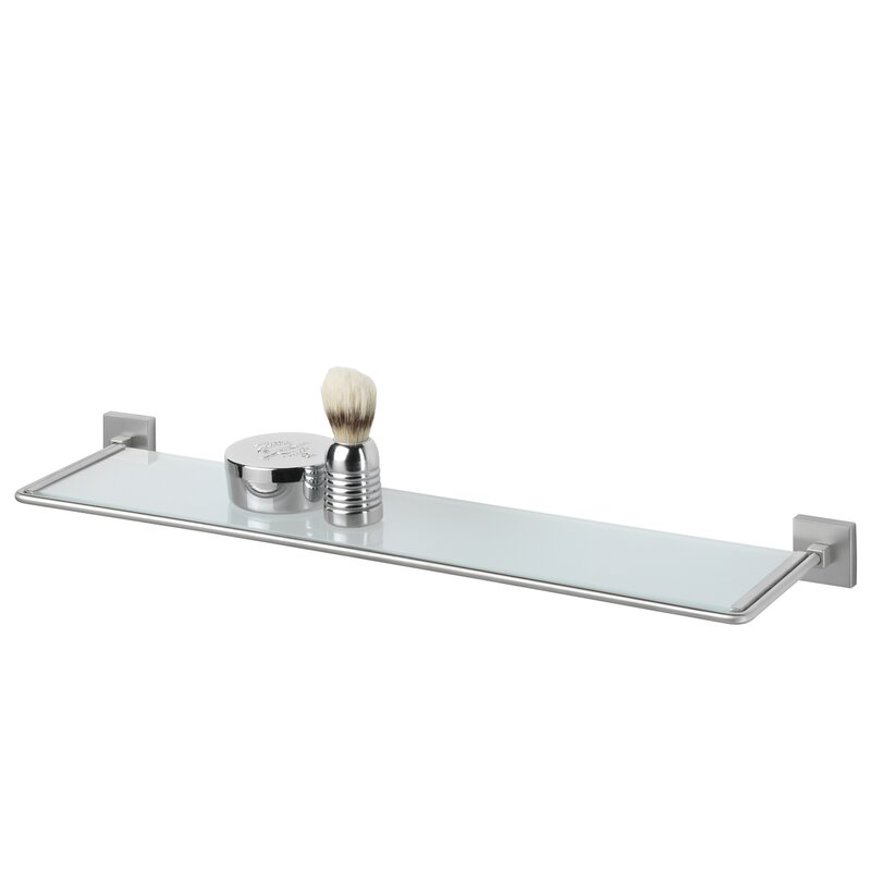 Glass Floating Shelves Awesome Ebern Designs Piper Glass Floating Shelf Wayfair